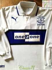 2000/01 Everton 3rd Football Shirt (L)