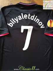 2009/10 Everton Away Europa League Football Shirt Bilyaletdinov #7 (XL)
