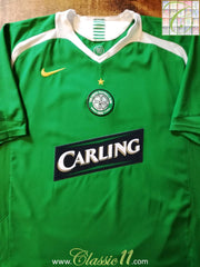 2005/06 Celtic Away Football Shirt (XXL)