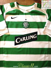 2005/06 Celtic Home Football Shirt (L)