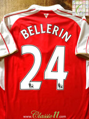 2015/16 Arsenal Home Premier League Football Shirt Bellerin #24 (S)