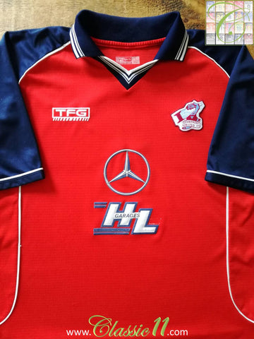 2002/03 Scunthorpe Away Football Shirt (L)