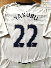 2008/09 Everton Away Premier League Football Shirt Yakubu #22 (XL)