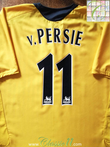 2006/07 Arsenal Away Premier League Football Shirt v.Persie #11 (XL)