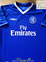 2003/04 Chelsea Home Football Shirt (B)