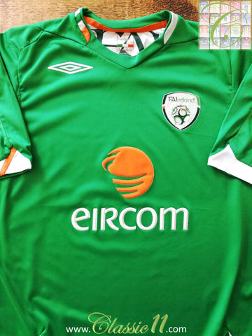 2006/07 Republic of Ireland Home Football Shirt (M)