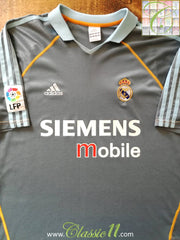 2003/04 Real Madrid 3rd La Liga Football Shirt (S)