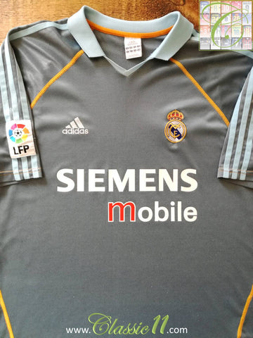 2003/04 Real Madrid La Liga 3rd Football Shirt (XL)