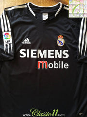 2004/05 Real Madrid Away La Liga Football Shirt (L)