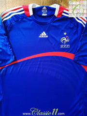2007/08 France Home Football Shirt (S)