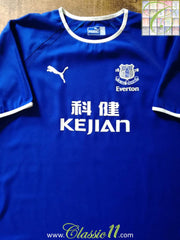 2003/04 Everton Home Football Shirt (XL)