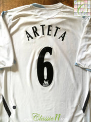 2006/07 Everton Away Premier League Football Shirt Arteta #6 (XL)
