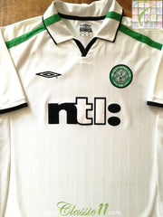 2001/02 Celtic Away Football Shirt (L)