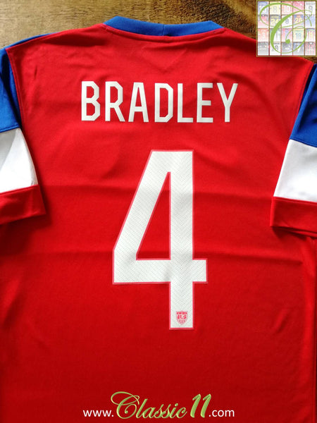 d52006918 2014 15 USA Away Football Shirt Bradley  4   Old Vintage Soccer ...