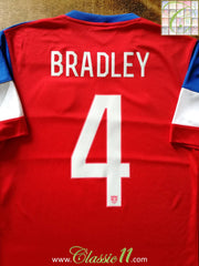 2014/15 USA Away Football Shirt Bradley #4 (S)