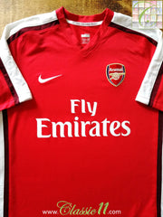 2008/09 Arsenal Home Football Shirt (M)