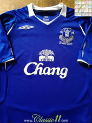 2008/09 Everton Home Football Shirt (M)