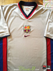 1998/99 Barcelona Away Football Shirt (XL)