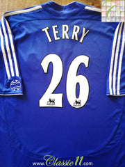 2006/07 Chelsea Home Premier League Football Shirt Terry #26 (XXL)