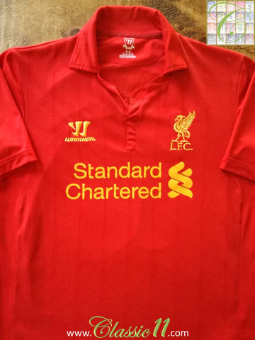 2012/13 Liverpool Home Football Shirt (S)