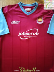 2003/04 West Ham Home Football Shirt (M)