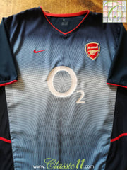 2002/03 Arsenal Away Football Shirt (L)