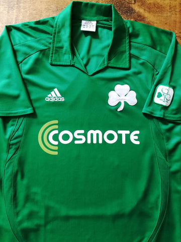 2008/09 Panathinaikos Home Centenary Football Shirt (M)