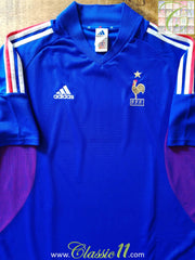 2002/03 France Home Football Shirt (L)