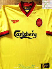 1997/98 Liverpool Away Football Shirt (L)
