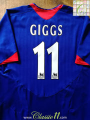 2005/06 Man Utd Away Premier League Football Shirt Giggs #11 (L)
