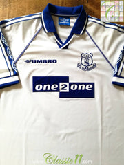 1998/99 Everton Away Football Shirt (XL)
