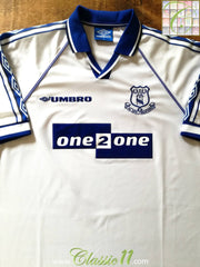 1998/99 Everton Away Football Shirt (L)