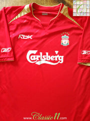 2005/06 Liverpool European Football Shirt (XL)