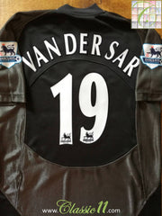 2005/06 Man Utd Goalkeeper Premier League Football Shirt Van Der Sar #1 (L)