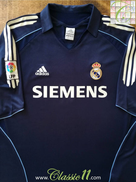 huge discount becd9 f62e4 2005/06 Real Madrid Away La Liga Football Shirt / Soccer ...