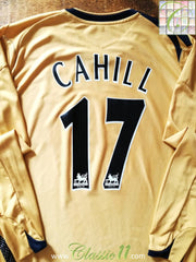2006/07 Everton 3rd Premier League Football Shirt. Cahill #17 (XL)