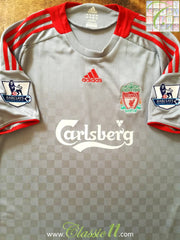 2008/09 Liverpool Away Premier League Football Shirt (L)