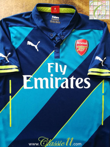 2014/15 Arsenal 3rd Football Shirt (L)