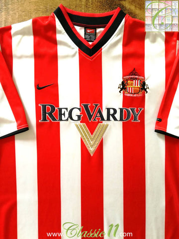 2000/01 Sunderland Home Football Shirt (S)