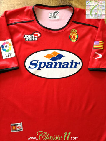 2002/03 RCD Mallorca Home La Liga Football Shirt (L)