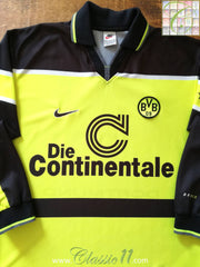 1997 Borussia Dortmund Home Football Shirt. (L)