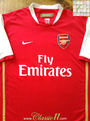 2006/07 Arsenal Home Football Shirt (S)