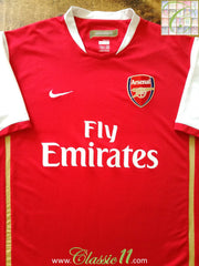 2006/07 Arsenal Home Football Shirt (M)