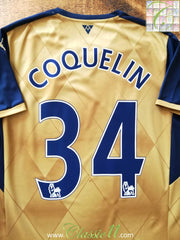 2015/16 Arsenal Away Premier League Football Shirt Coquelin #34 (M)