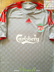 2008/09 Liverpool Away Football Shirt (L)