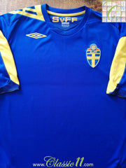 2006/07 Sweden Away Football Shirt (XL)