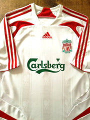 2007/08 Liverpool Away Football Shirt (L)