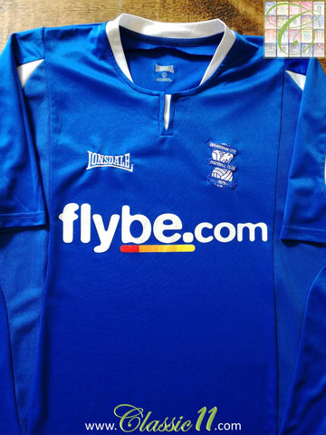 2005/06 Birmingham City Home Football Shirt (L)