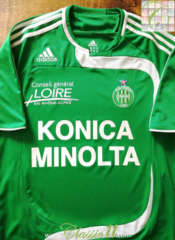 2007/08 AS Saint Etienné Home Football Shirt (S)