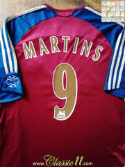 2006/2007 Newcastle United Away Premier League Football Shirt Martins #9 (L)